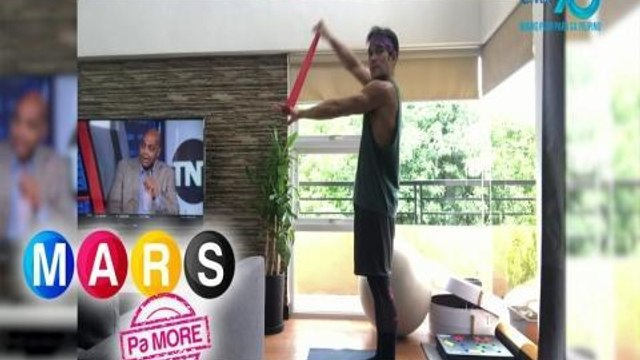 Mars Pa More: Pancho Magno's full Body Resistance Band Workout | Push Mo Mars