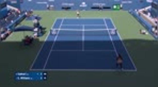 US Open- Serena Williams passe en quarts dans la douleur