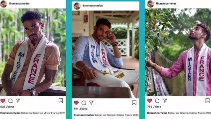 Thomas Cornelus revient sur son élection Mister France 2020