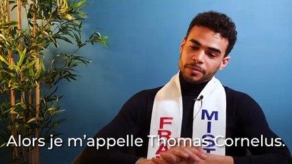 L'interview-portrait de Thomas Cornelus, Mister France 2020
