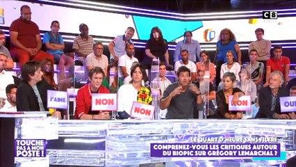 Jean-Pascal Lacoste, Francesca Antoniotti et Sofiane règlent leurs comptes dans Touche pas à mon poste - C8