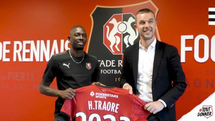 Hamari Traoré prolonge au SRFC !