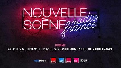 Pomme, marraine de la Nouvelle Scène de Radio France 2020, avec l'Orchestre Philharmonique de Radio France