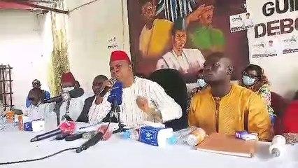 Siaka Barry du MPDG repousse la main tendue du RPG et dit qu'il n'ira pas à la présidentielle