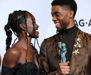 Lupita Nyong'o's Powerful Tribute Post to Chadwick Boseman
