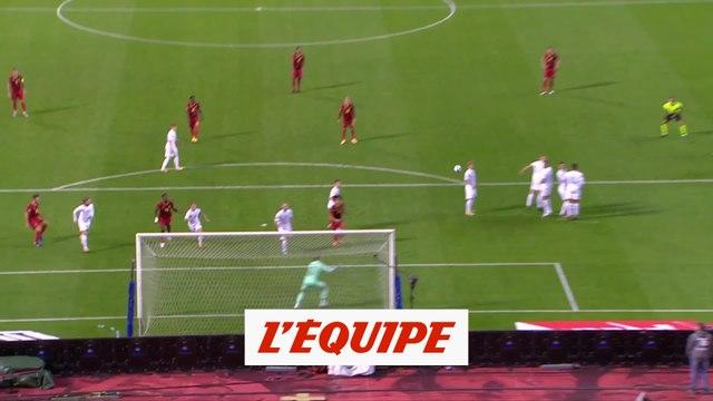 Les buts de Belgique-Islande - Foot - L. nations
