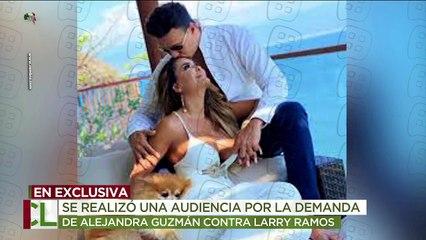 ¡Hubo audiencia por la demanda que Alejandra Guzmán interpuso contra Larry Ramos! | Ventaneando