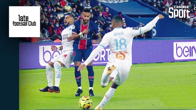 Tony Chapron analyse le comportement de Neymar pendant PSG / OM