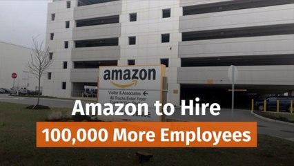 Amazon's Latest Hires
