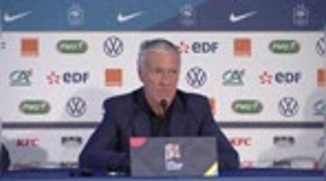 """Bleus - Deschamps : """"L'équipe a besoin de Griezmann"""""""