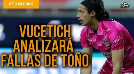 Vucetich analizará fallas de Toño Rodríguez que podrían costarle la titularidad