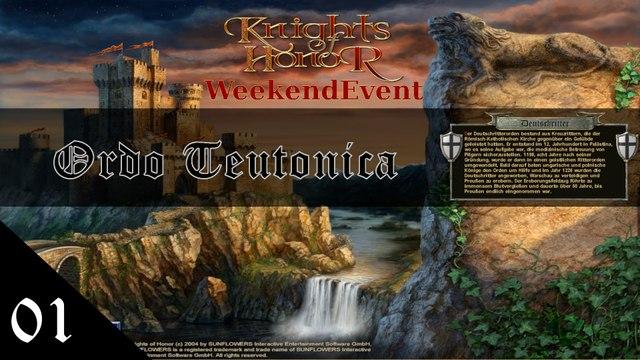 Knights of Honor [Ordo Teutonica] Stream E01