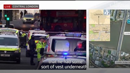 How the London Bridge terror attack unfolded – video report