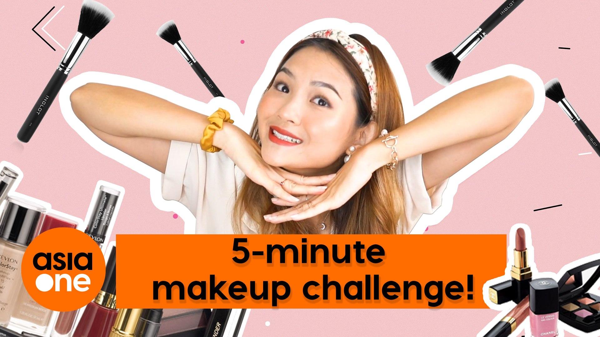 Feeling Fab: 5-minute makeup challenge!
