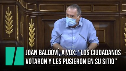 """Joan Balvodí, a Vox: """"Los ciudadanos votaron y les pusieron en su sitio"""""""