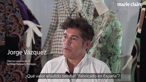 """Jorge Vázquez: """"Tenemos que recuperar los oficios tradicionales de la moda"""""""