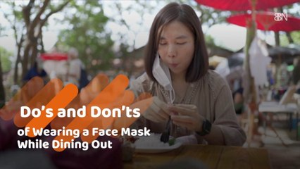 Dining With A Mask