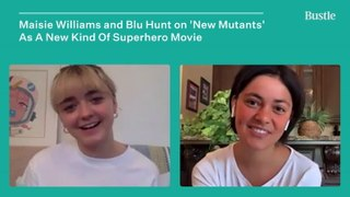 Maisie Williams & Blu Hunt Share The Best Bloopers From 'New Mutants' | Bustle