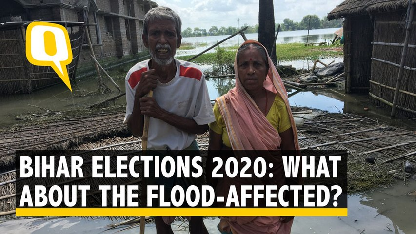 'Should Have Rather Drowned,' Say Flood-Affected Ahead of Bihar Polls 2020