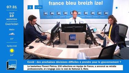 La matinale de France Bleu Breizh Izel du 10/09/2020