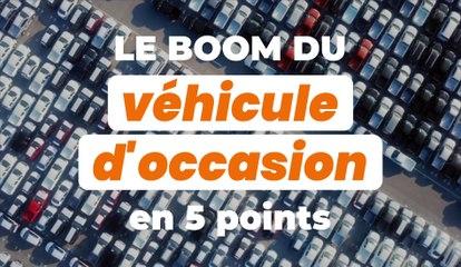 Le boom du véhicule d'occasion en 5 points