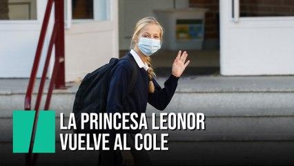La vuelta al cole de la princesa Leonor
