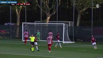Le premier but de Brahim Diaz avec l'AC Milan