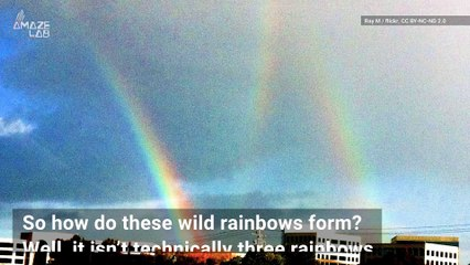 This Spectacular Triple Rainbow Phenomenon Isn't What it Seems