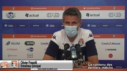 (J05) Cholet vs Laval, avant-match avec O.Frapolli