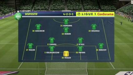 FIFA 20 : notre simulation de ASSE - Strasbourg (L1 - 2e journée)