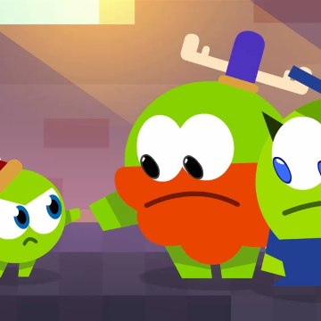 Om Nom Stories: Nibble Nom - Video Game - Funny cartoons for kids