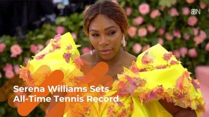 Serena Williams Breaks Record