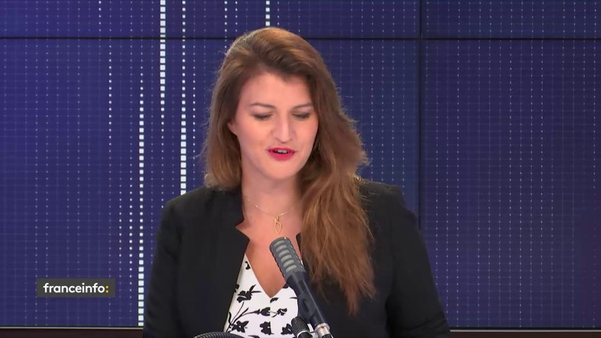 """Floutage des visages des policiers, Tour de France... le """"8h30 franceinfo"""" de Marlène Schiappa"""