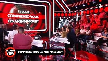"""Cyril Hanouna a demandé à un invité de quitter le plateau de """"Balance ton post"""" (C8) en septembre 2020 après que ce dernier ait fait """"un salut nazi, une quenelle"""" en plein direct."""
