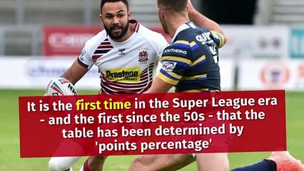 Super League's big shake up of the league table