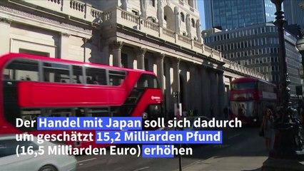 Nach Brexit: London und Tokio schließen Handelsabkommen