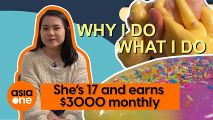 Why I Do What I Do: She's 17 and earns $3,000 a month from making slime