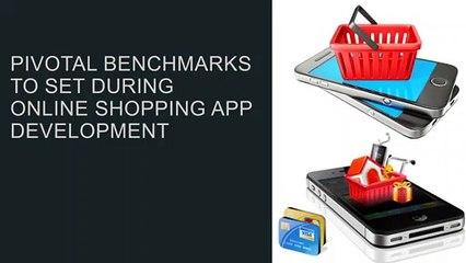 set during Online shopping app development