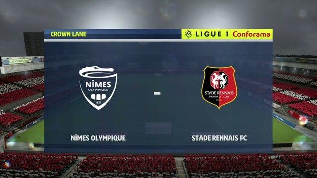 Nîmes - Rennes : notre simulation FIFA 20 (L1 - 2e journée)