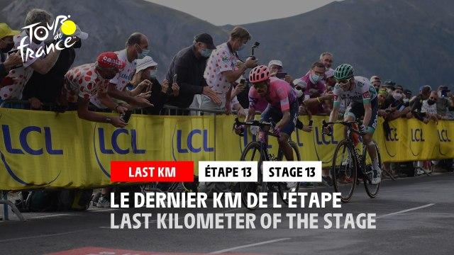#TDF2020 - Étape 13 / Stage 13 - Flamme Rouge / Last Kilometer
