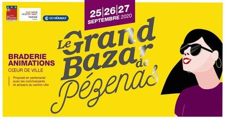 PEZENAS - 3ème « Grand Bazar de Pézenas » du vendredi 25 au dimanche 27 septembre 2020