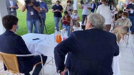 """Ministro Speranza incontra Emiliano: """"dopo 20 anni finisce piano rientro, ora riforma Sanità"""""""