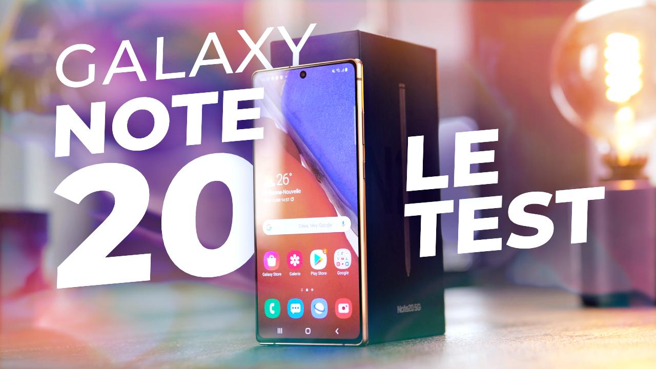 Un TRÈS BON smartphone... pour 2018 ! [Test du Samsung Galaxy Note 20]