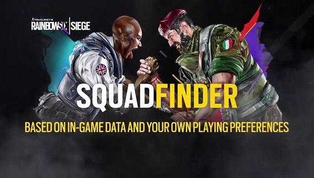 Tom Clancy's Rainbow Six Siege - SquadFinder - Demo Video