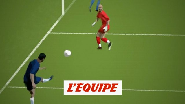 On a redessiné le lob impossible de Pauleta face à Barthez en 2004 - Foot - L1 - PSG-OM