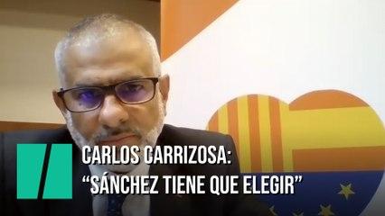 """Carrizosa, sobre los presupuestos: """"Sánchez tendrá que elegir: Esquerra o Ciudadanos"""""""