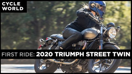 2020 Triumph Street Twin First Ride Review