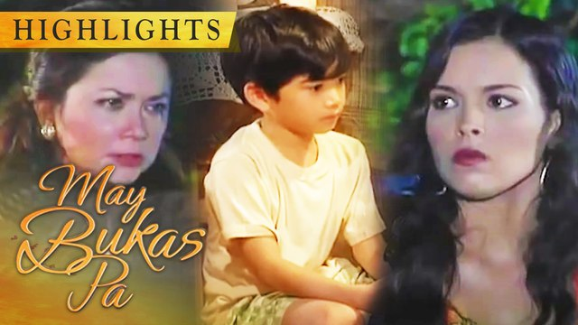 Tilde reveals to Malena the secret she knows about Santino | May Bukas Pa
