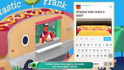 Twitter testa mensagens de áudio por mensagem direta