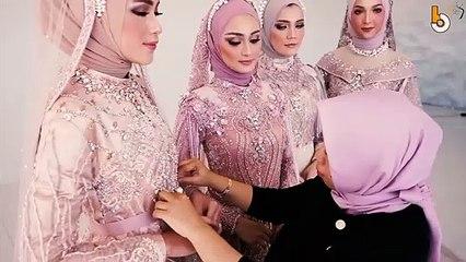 GLAMOROUS CORAL KARYA WHULYAN, INSPIRASI WEDDING DRESS MUSLIMAH